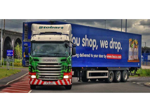 Набираме шофьори HGV Клас 1, C+E, Ливърпул, Англия, хладилници.